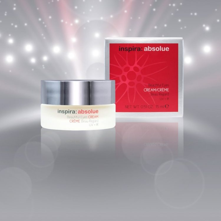 Anti ageing eye cream with HA and Vitamin E