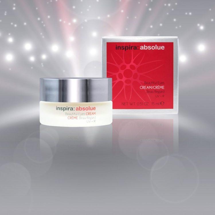 Anti ageing eye cream with HA and Vitamin E