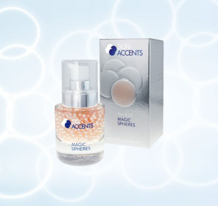 Anti ageing pearls lifting and firming effect with active algae sphere technology
