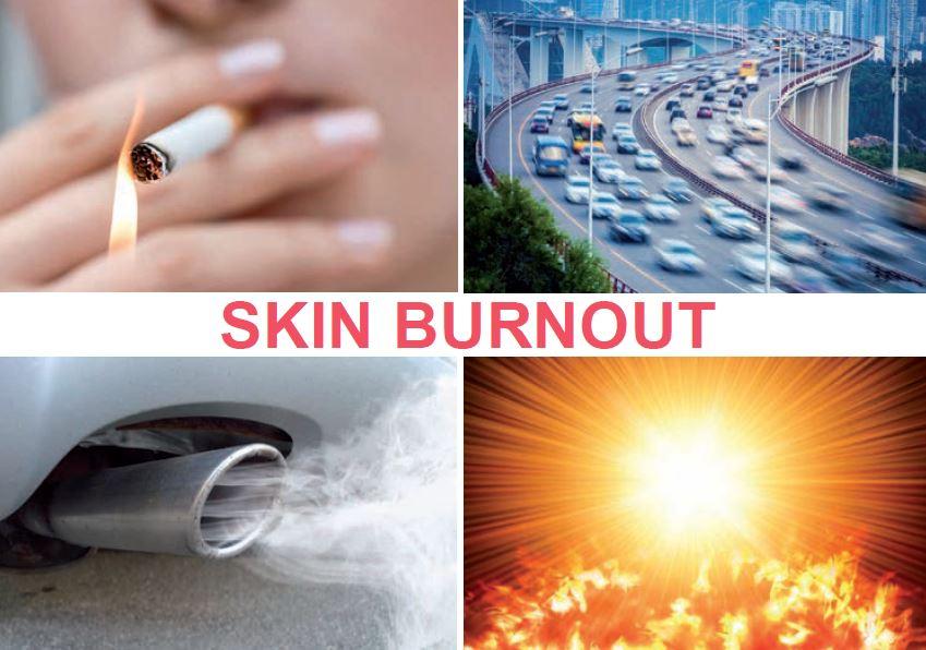ANTI-POLLUTION CARE TO PREVENT PREMATURE AGEING