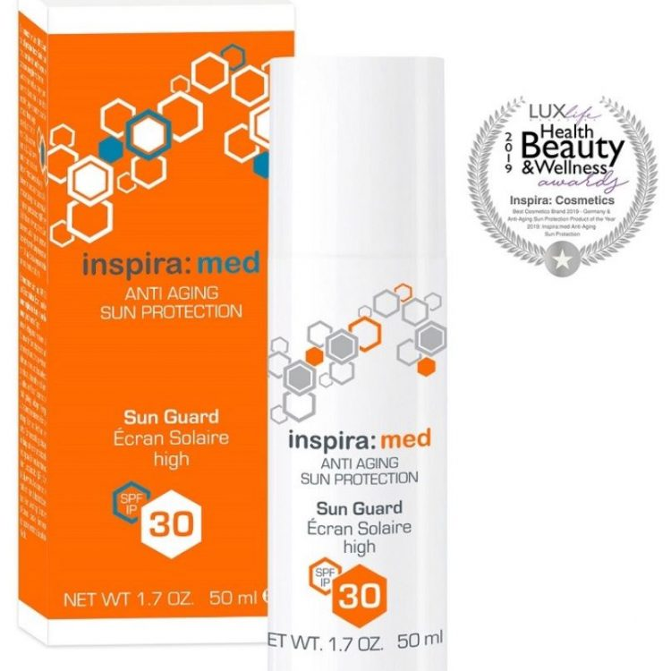 Anti ageing sunscreen spf30